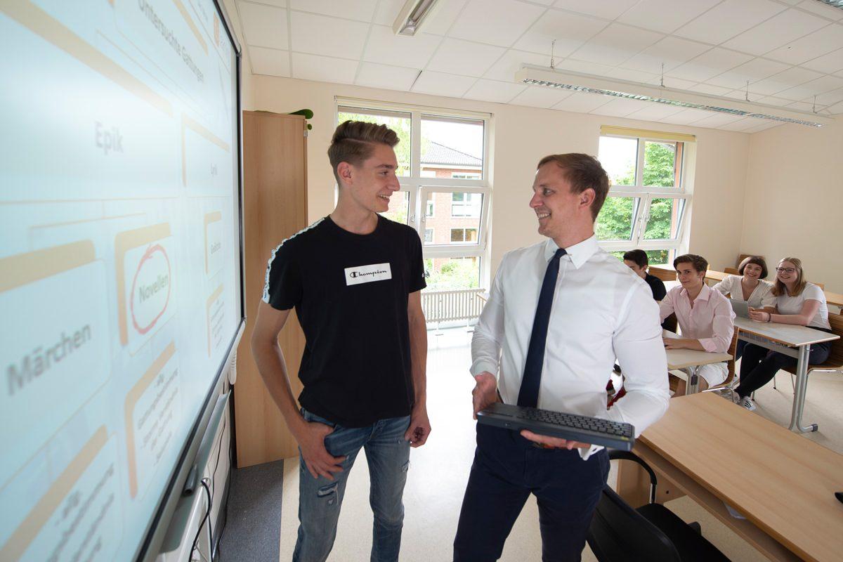 Vorbereitung auf Cambridge-Certificate-Prüfungen am Gymnasium Lüneburger Heide