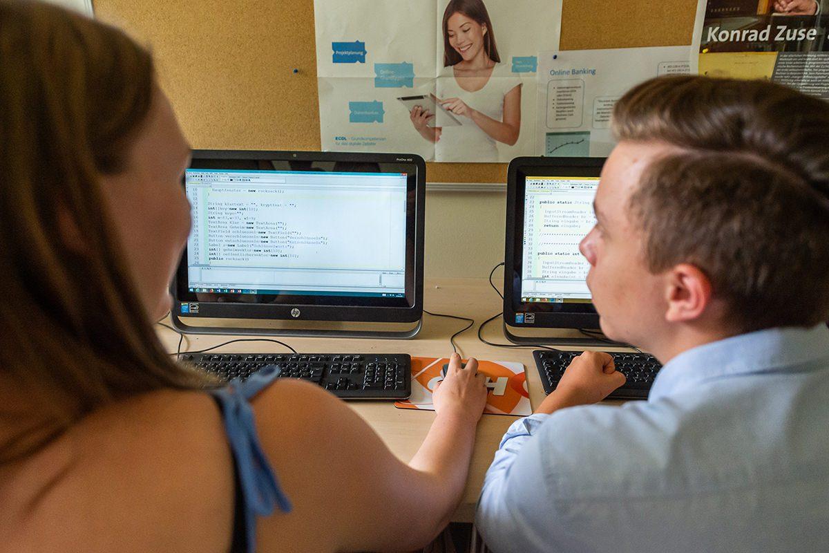Digitale Bildung am Gymnasium Lüneburger Heide