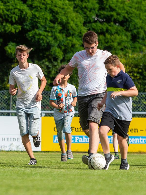 Sport Unterricht am Gymnasium Lüneburger Heide
