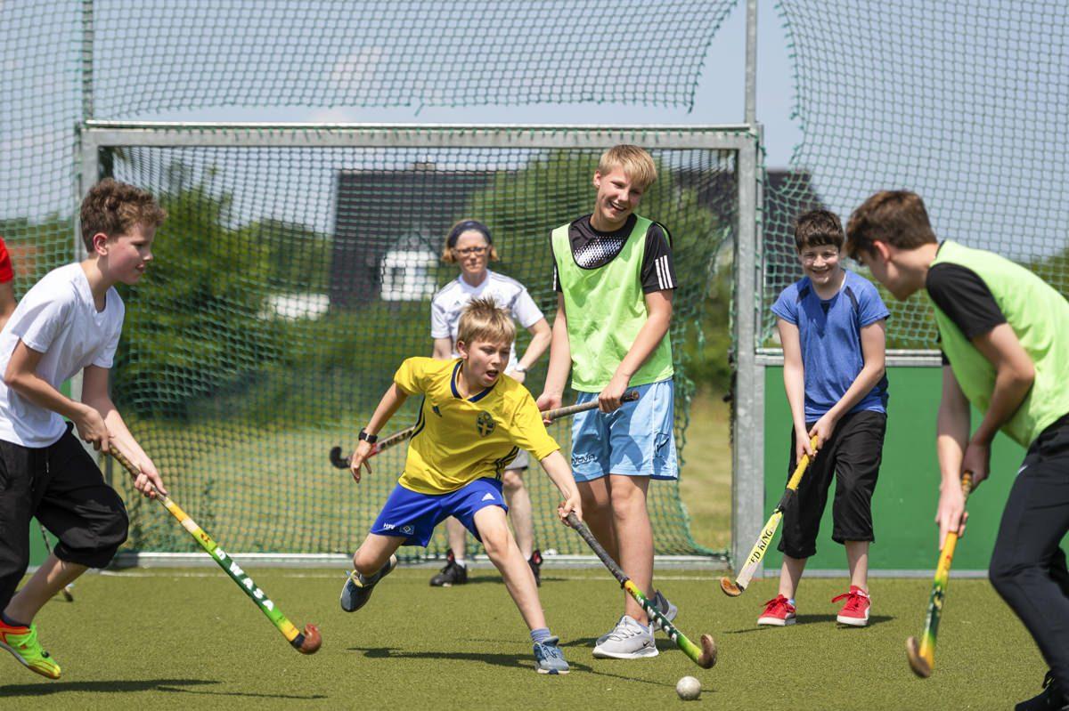 Sport Unterricht an der Privatschule Gymnasium Lüneburger Heide
