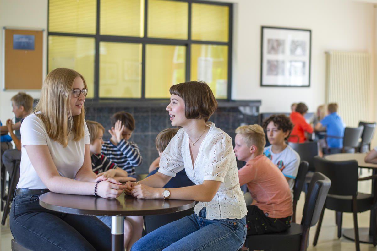 Schüler an der Privatschule Gymnasium Lüneburger Heide