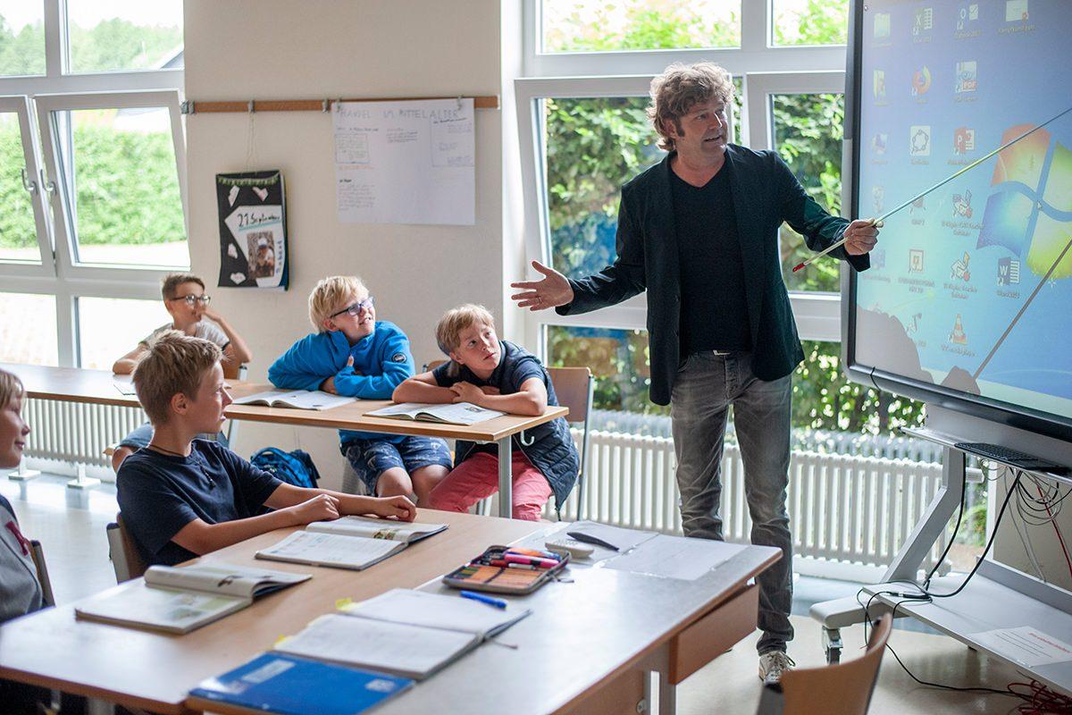 Unterricht an der Privatschule Gymnasium Lüneburger Heide